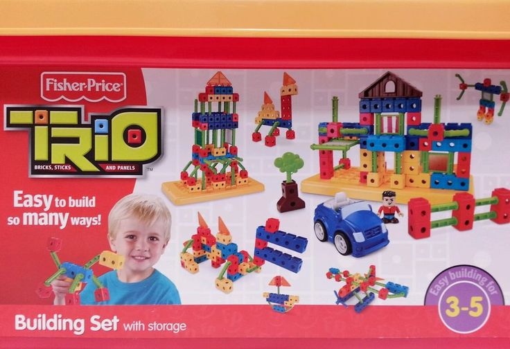 fisher price trio blocks instructions