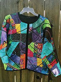 Quilted sweatshirt jacket instructions