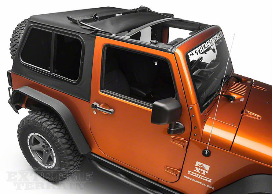 jeep wrangler soft top instructions