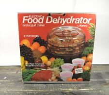ronco 7 tray food dehydrator instructions