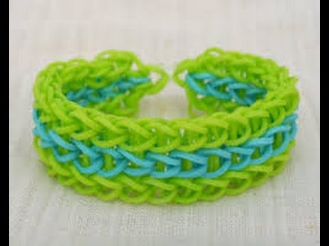 loom bands instructions step by step by hand