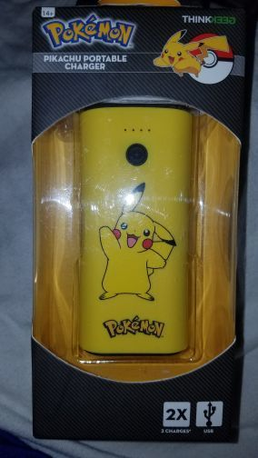 Pikachu portable charger instructions