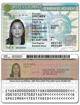 What is a national identity document for canada immigration