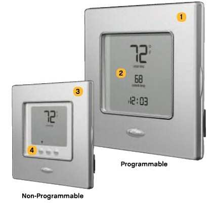Carrier edge pro thermostat manual