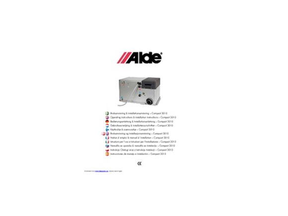 Alde heating system instructions