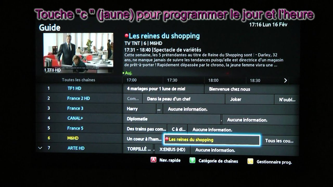 Application smart tv samsung tf1 replay