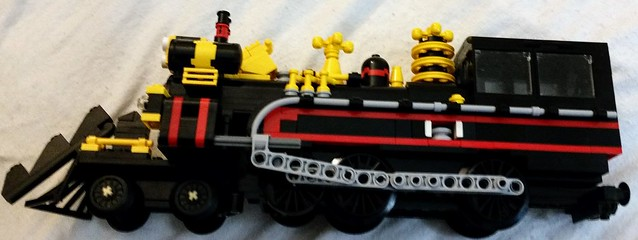 lego jules verne train instructions