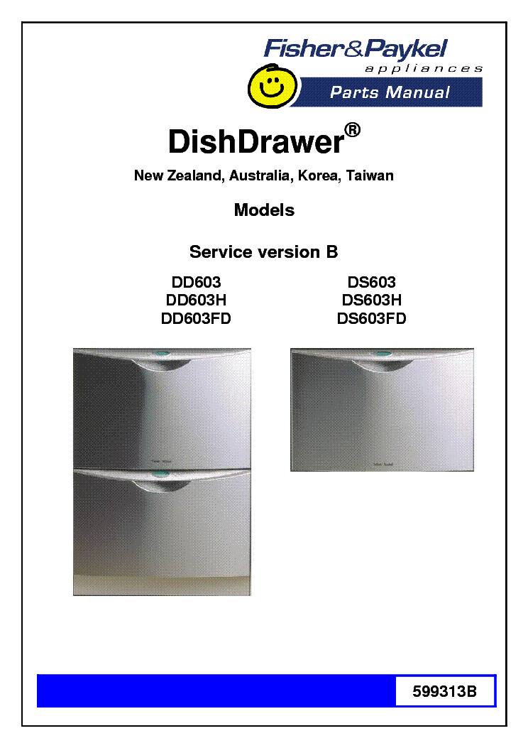 fisher paykel dd603 service manual