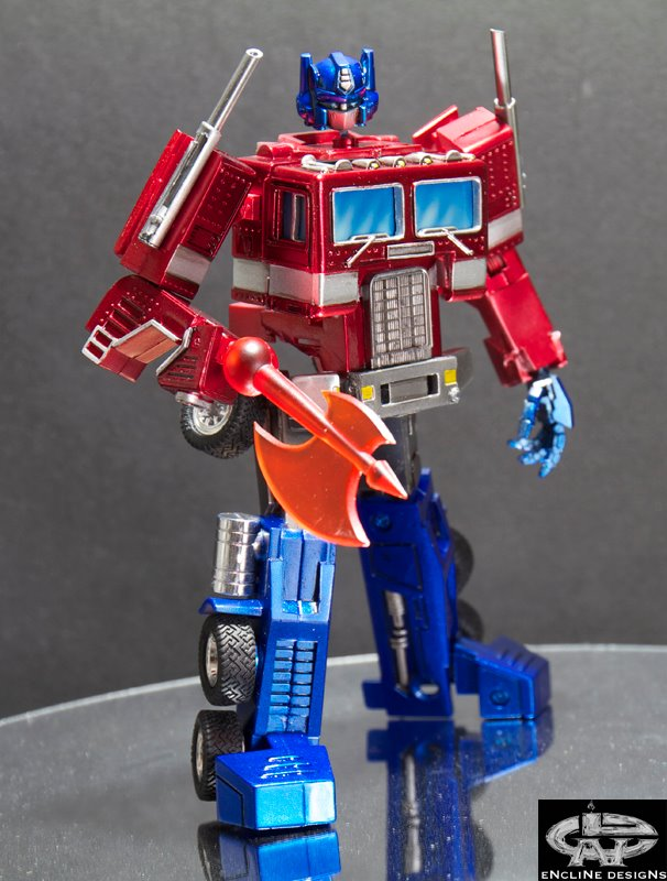 instructions to transform optimus prime toy