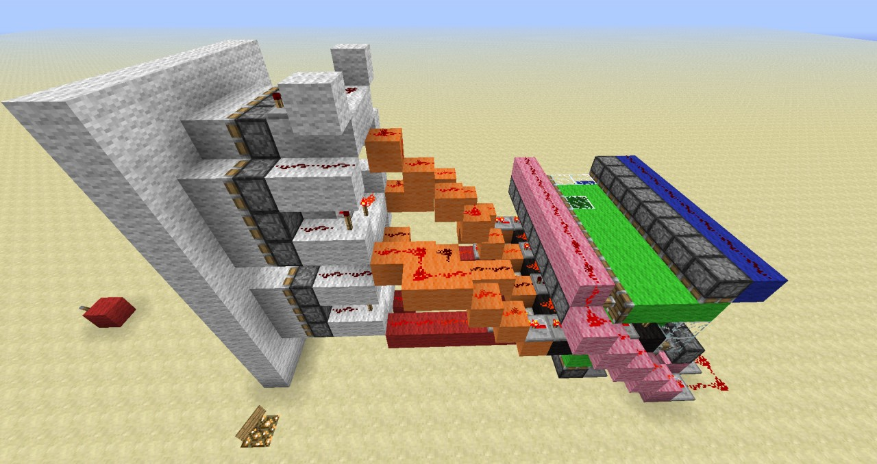 Minecraft how to build a redstone house