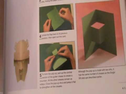 pop up book instructions how to make