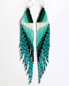 porcupine quill earring instructions